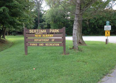 sertoma park sign