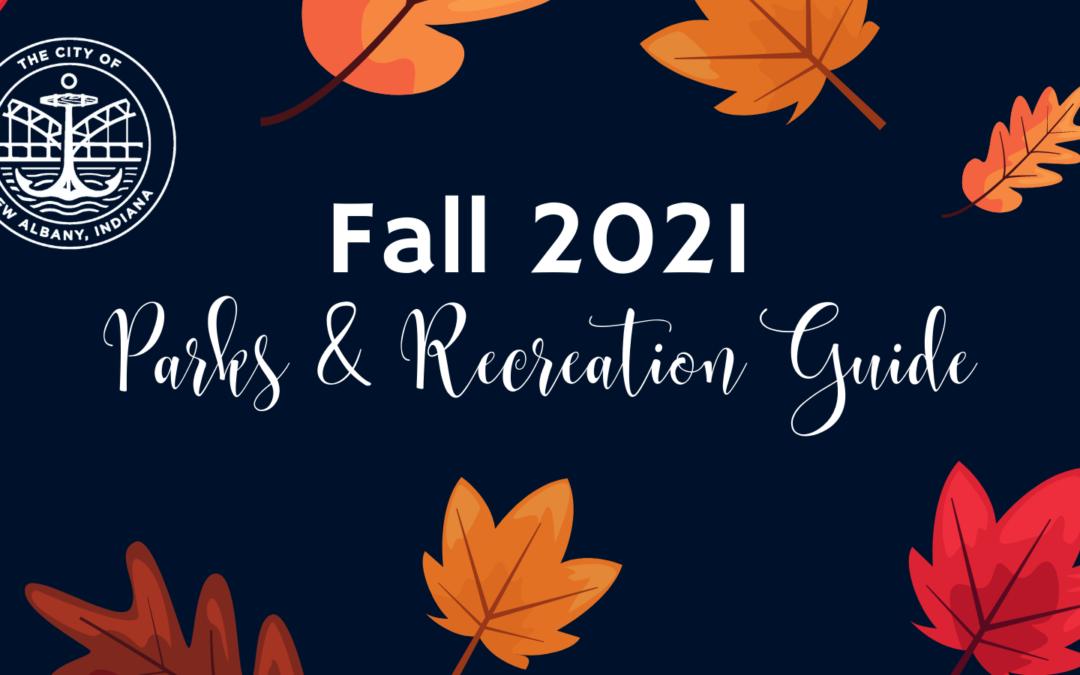 2021 Fall Parks & Recreation Brochure